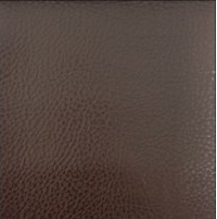 CHOCOLATE FAUX CALF LEATHER