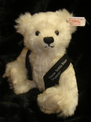 SINGAPORE STEIFF CLUB EVENT 2002 BEAR - VINTAGE