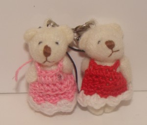 CROCHET DRESS BEARS