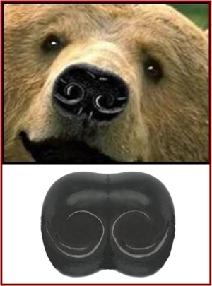 GRIZZLY FLEXIBLE RUBBER NOSE