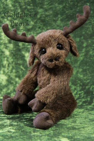 "Monty Moose – 9"" By Anne-Marie Cole"