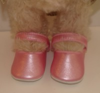 PINK PEARLISED SHOES