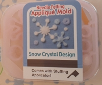 SNOW CRYSTAL FELTING KIT