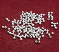 ROUND METAL BEADS - 4mm