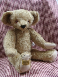 MERRYTHOUGHT BEAR #3 NAME:UNKNOWN