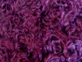 BAC57-L-9702 BORDEAUX MOHAIR WITH PINK TIPS