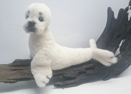 BUBBA THE BABY SEAL by Lyn Kilmurray