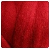 CHILLI PEPPER CORRIEDALE WOOL
