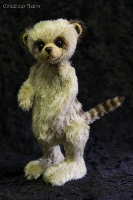 "FERDIE THE 6.5"" MEERKAT BY ANN-MARIE COLE"