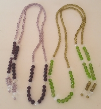 BEADED SPECTACLE HOLDERS