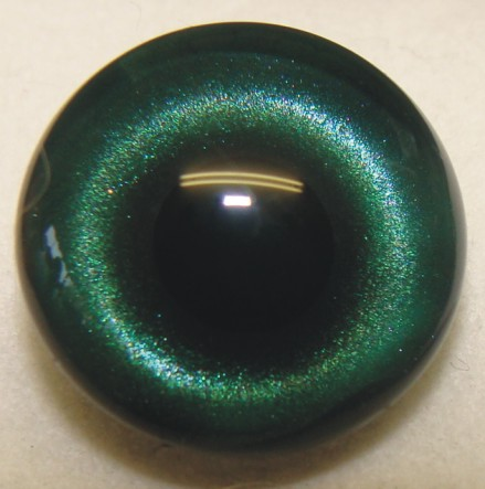 EMERALD GREEN TRANSLUCENT EYE