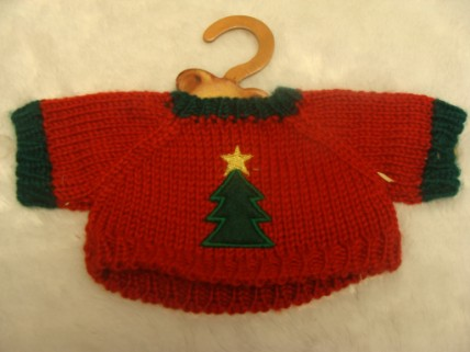 KNITTED XMAS JUMPER WITH CHRISTMAS TREE