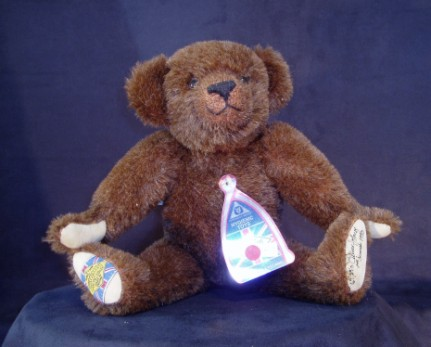 MERRYTHOUGHT BROWN BEAR
