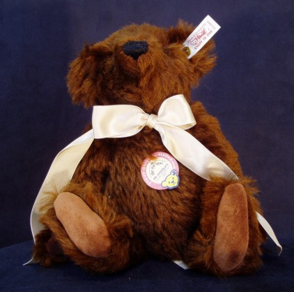 STEIFF - MR CHOCOLATE VINTAGE BEAR