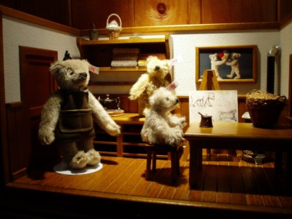 STEIFF-TEDDY BEAR WORKSHOP- VINTAGE