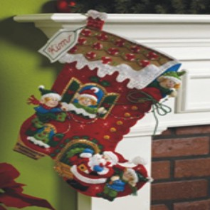 CHRISTMAS STOCKING - HOLIDAY DECORATING