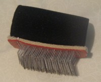FINGER FUR PILE BRUSH