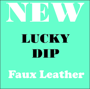 FAUX LEATHER LUCKY DIP