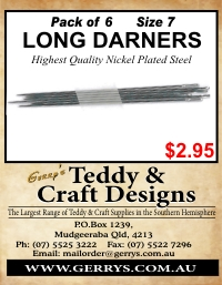 LONG DARNERS 6 PACK (size 7)