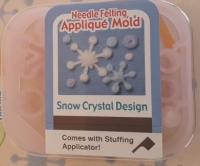 SNOW CRYSTAL FELTING KIT