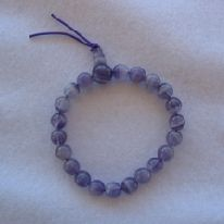 AMETHYST 7MM ROUND BEAD (SP14)