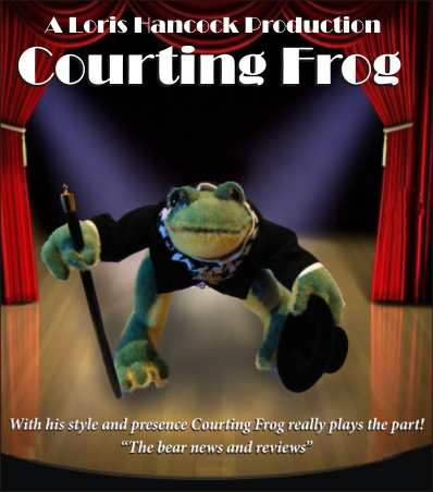 COURTING FROG - 4""