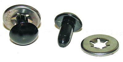 20mm BLACK SAFETY EYES